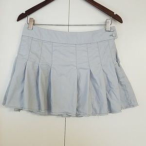 American Eagle Outfitters Knife Pleated Mini Skirt